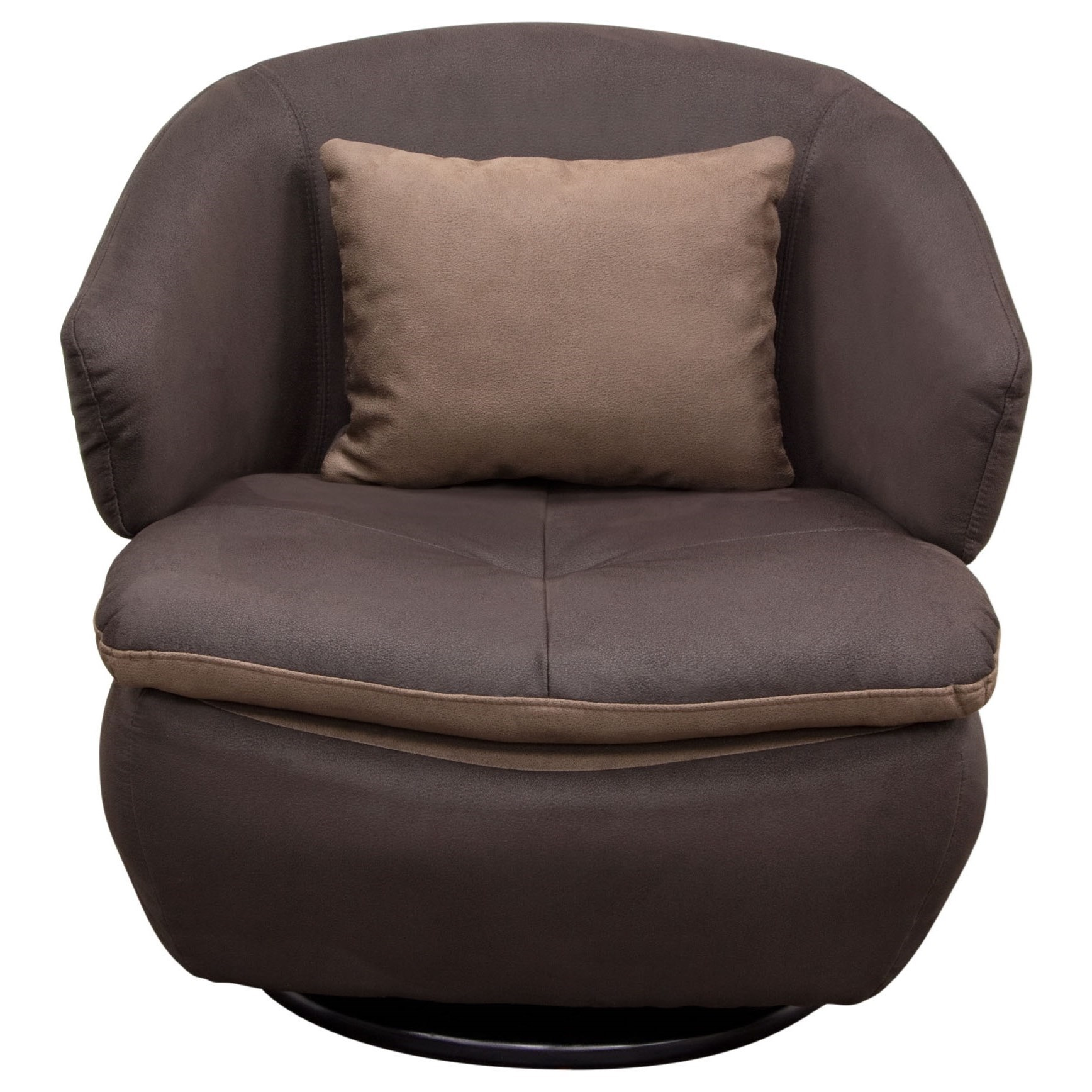 Diamond Sofa Accent Chairs Rio Swivel Chair - Item Number: RIOCHBR
