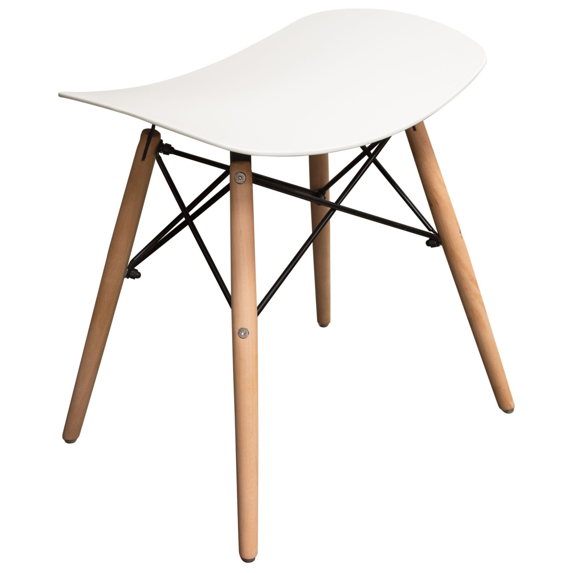 Set of Two Accent Stools