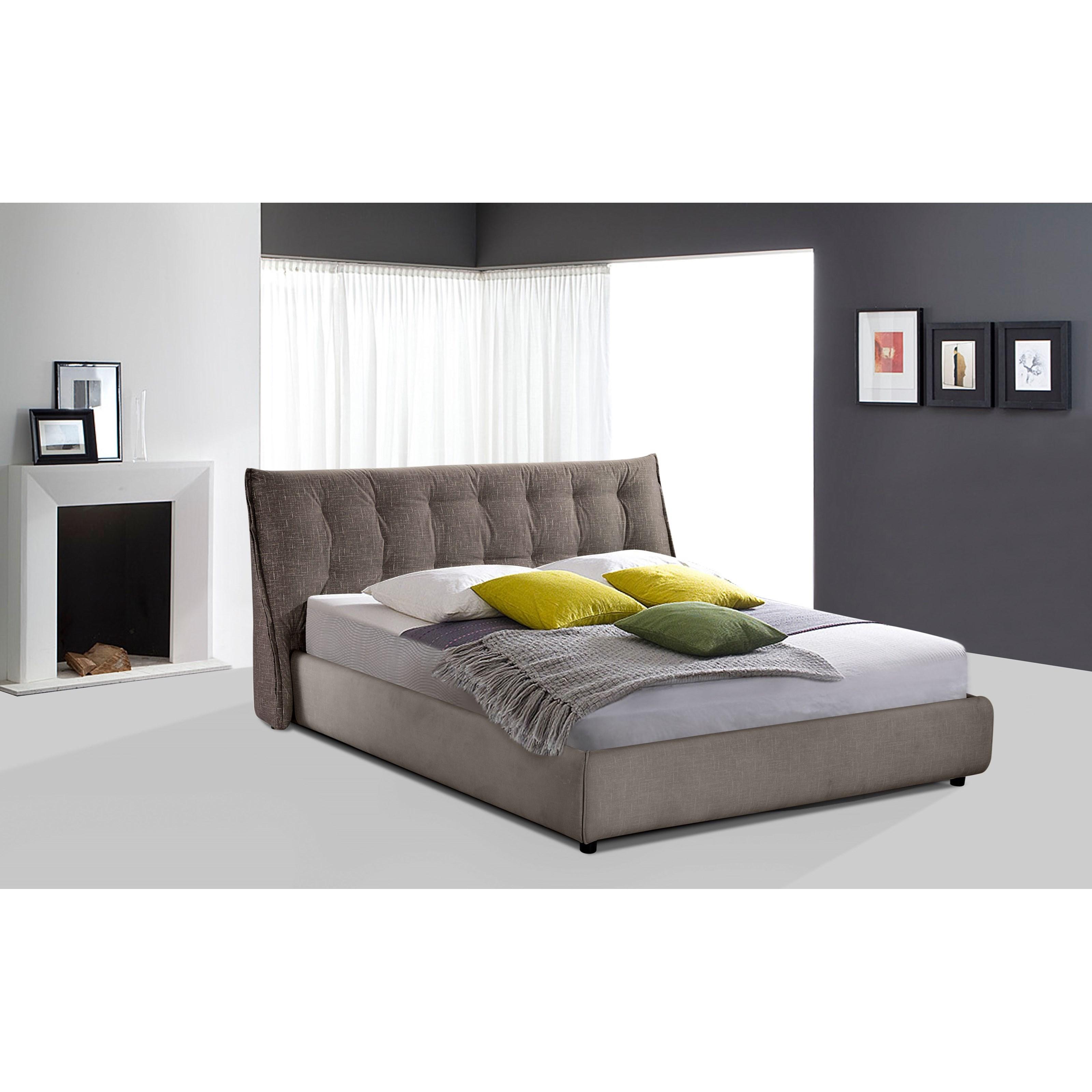 Diamond Sofa Ashton Queen Bed - Item Number: ASHTONQBEDGR