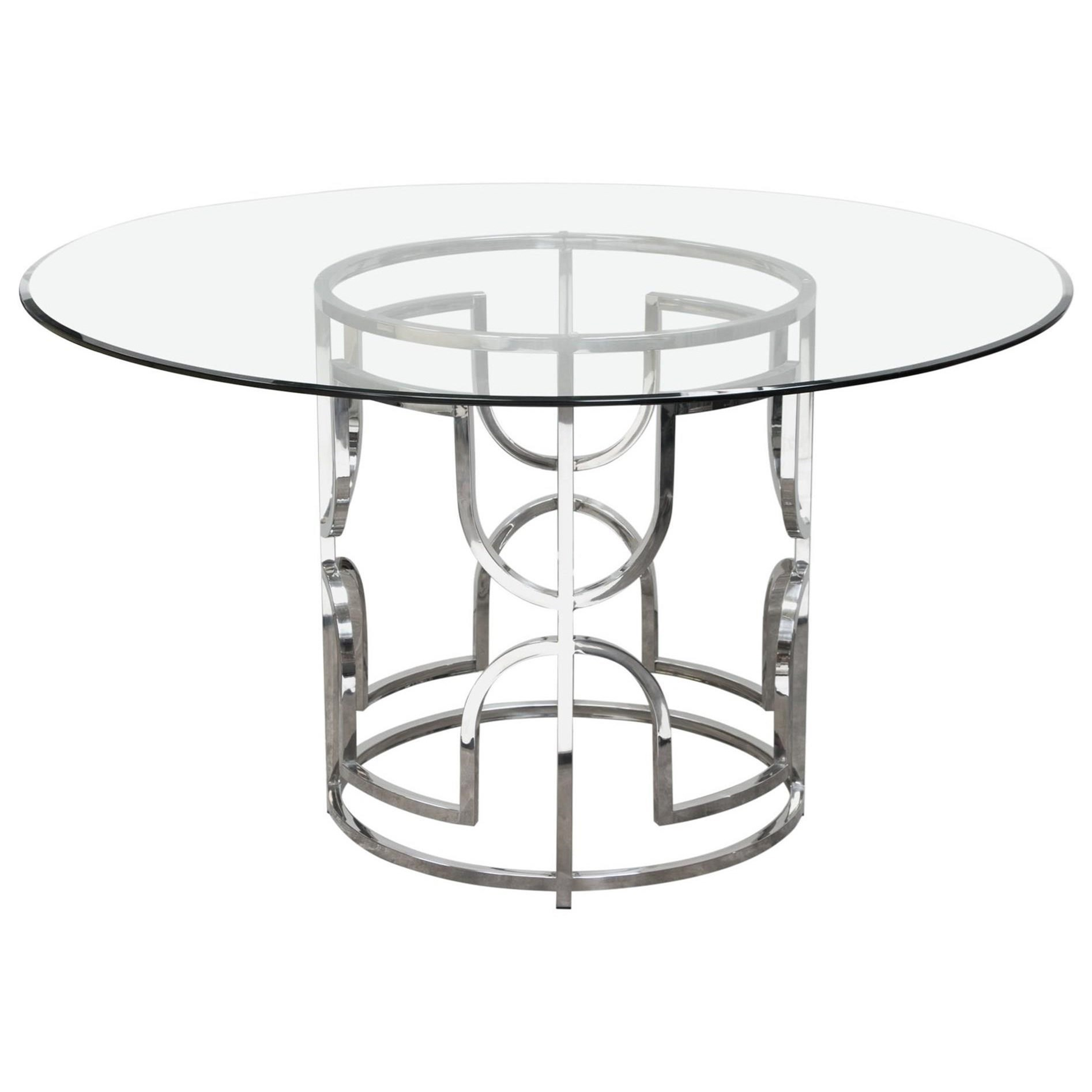 Diamond Sofa Avalon Dining Table - Item Number: AVALONRDT