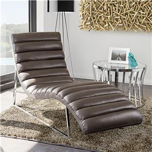 Diamond Sofa Bardot EG Chaise Lounge