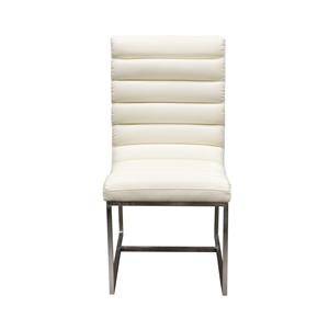 Diamond Sofa Bardot WH Upholstered Dining Chair