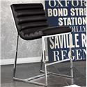 Diamond Sofa Bardot BL Counter Height Chair - Item Number: BARDOTSTBL