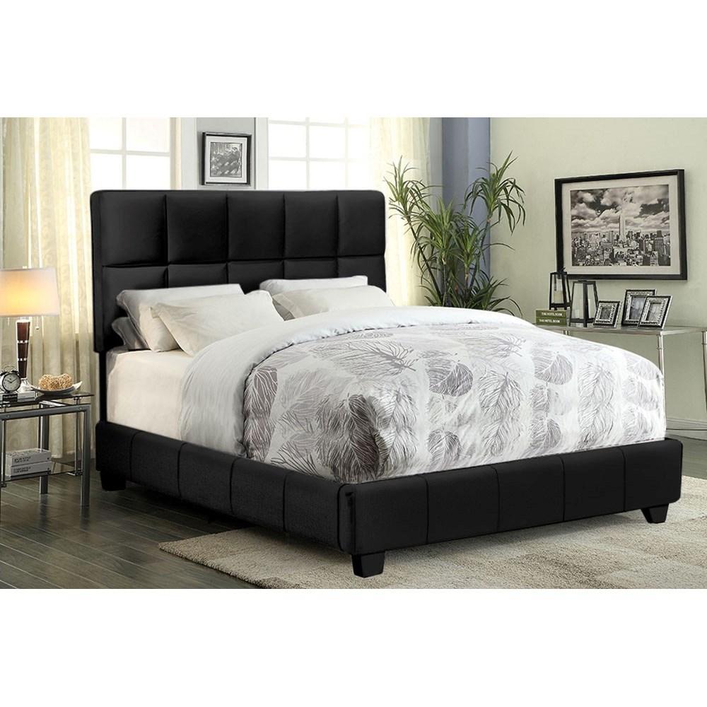 Diamond Sofa Biscuit Queen Bed - Item Number: BISCUITBLQU