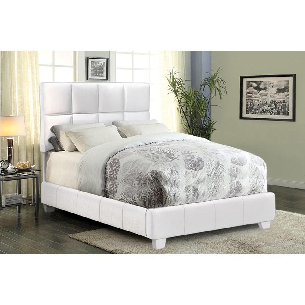 Diamond Sofa Biscuit Full Bed - Item Number: BISCUITWHFL