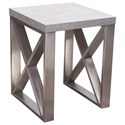 Diamond Sofa Carrera Tables End Table - Item Number: CARRERAETMA2
