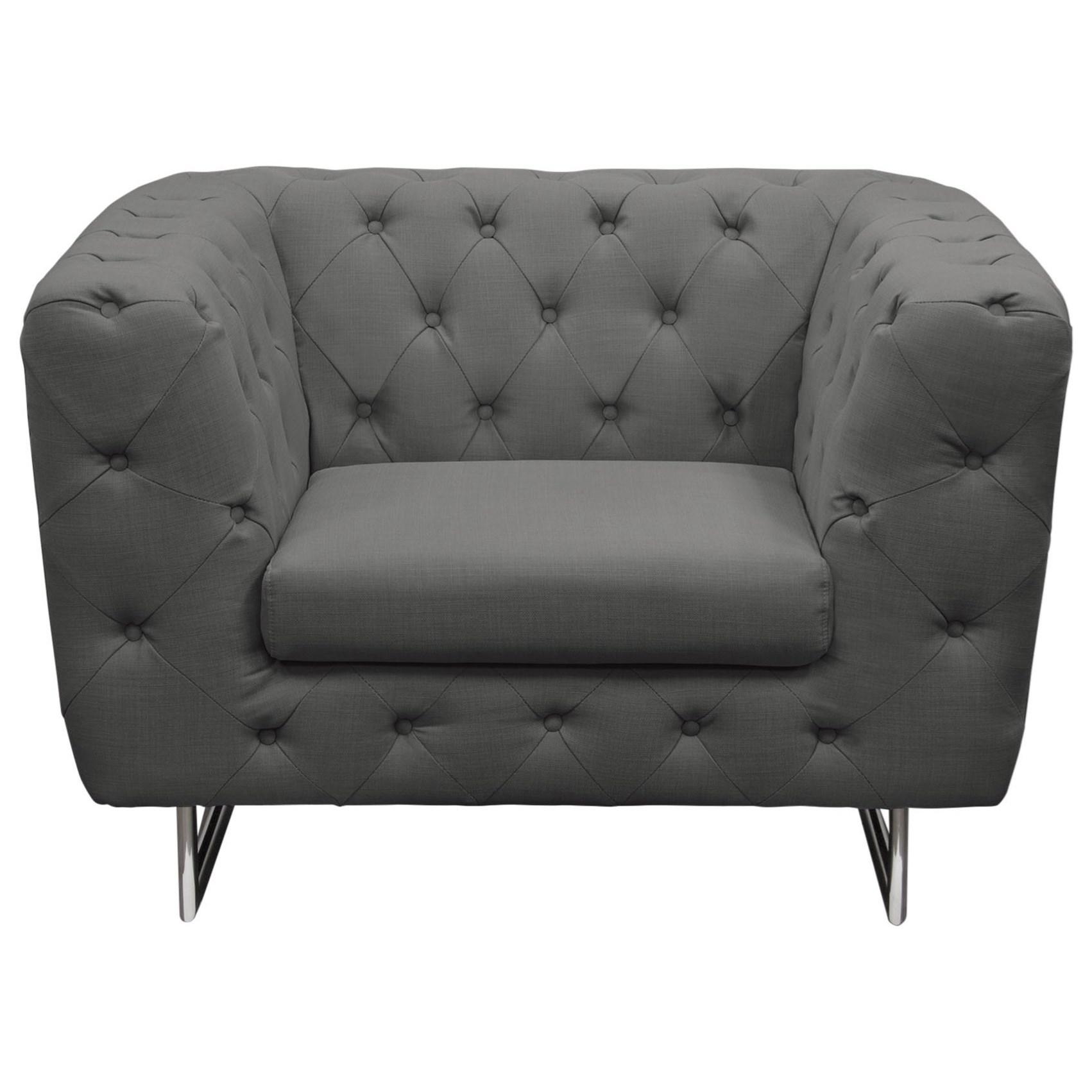 Diamond Sofa Catalina Chair - Item Number: CATALINACHGR