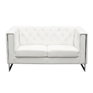 Diamond Sofa Chelsea Leatherette Loveseat