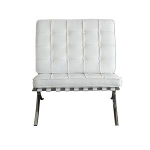 Diamond Sofa Cordoba WH Tufted Chair