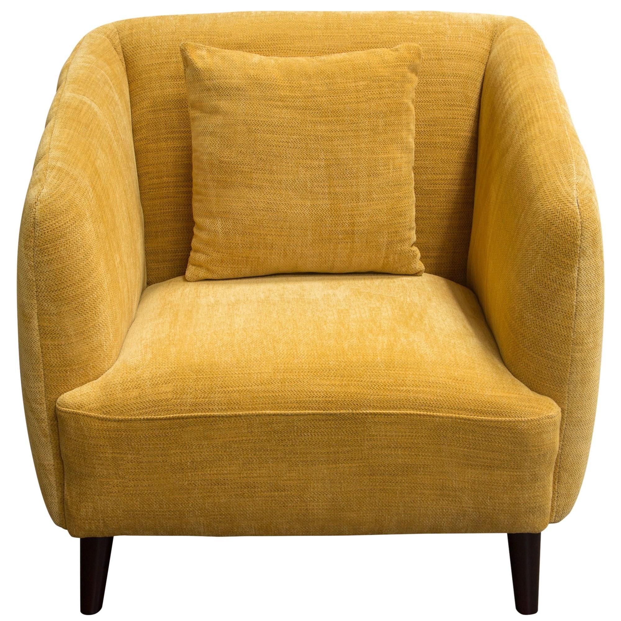 Diamond Sofa De Luca Chair - Item Number: DELUCACHDY