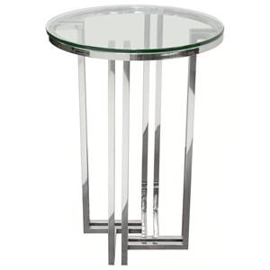 Diamond Sofa Deko Round Accent Table