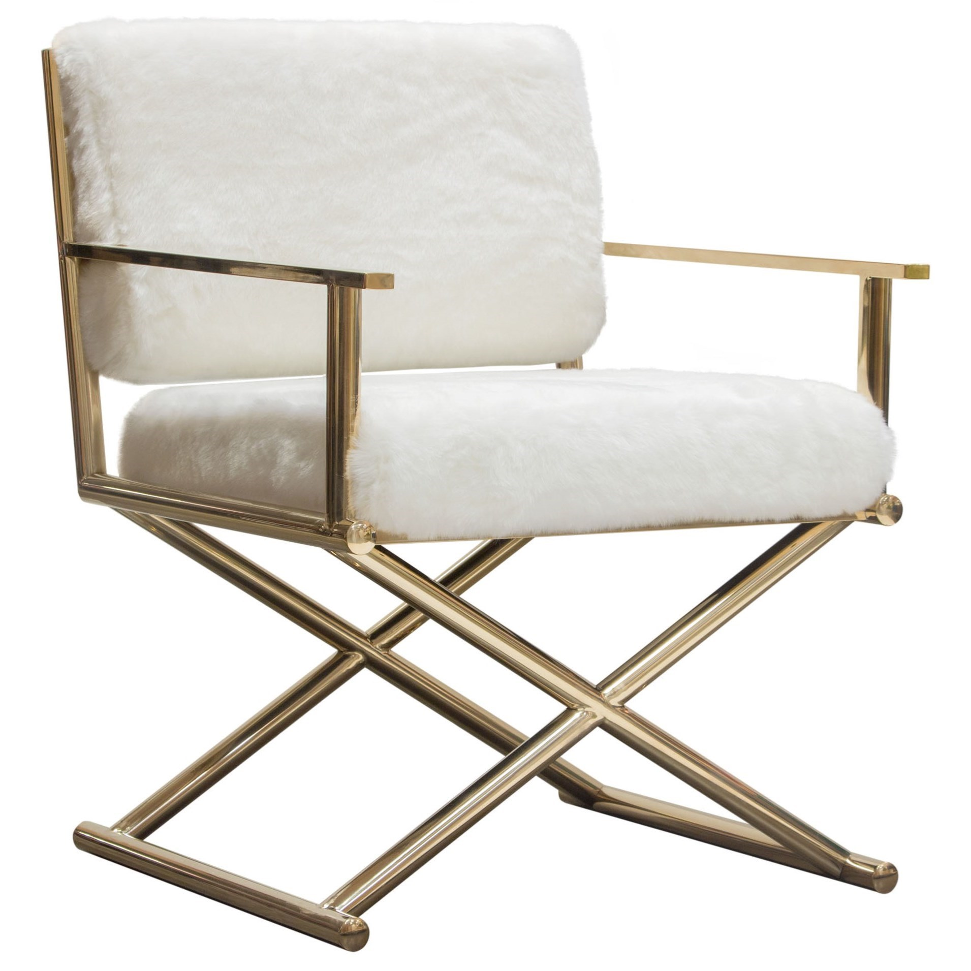 Diva Directors Chair by Diamond Sofa at Red Knot