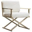 Diamond Sofa Diva Directors Chair - Item Number: DIVACHWH