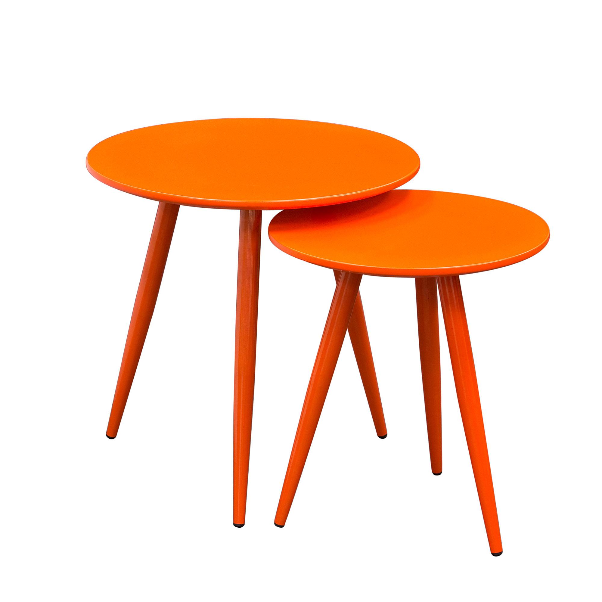 Diamond Sofa Duo 2PC Nesting Tables - Item Number: DUOETOR