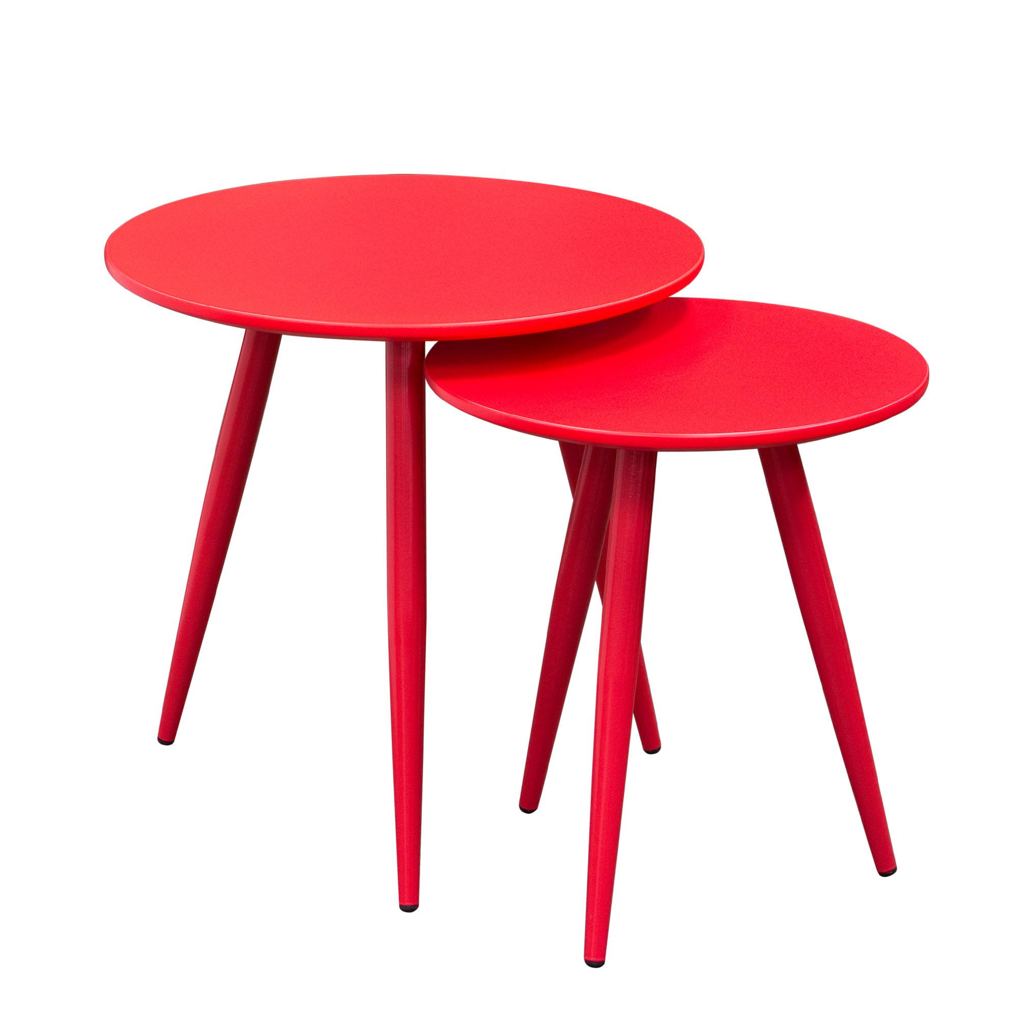 Diamond Sofa Duo 2PC Nesting Tables - Item Number: DUOETRE