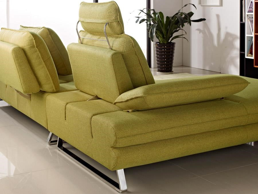Diamond Sofa Eva Fabric Sectional with Chaise - Item Number: EVALF2PCSECTDY