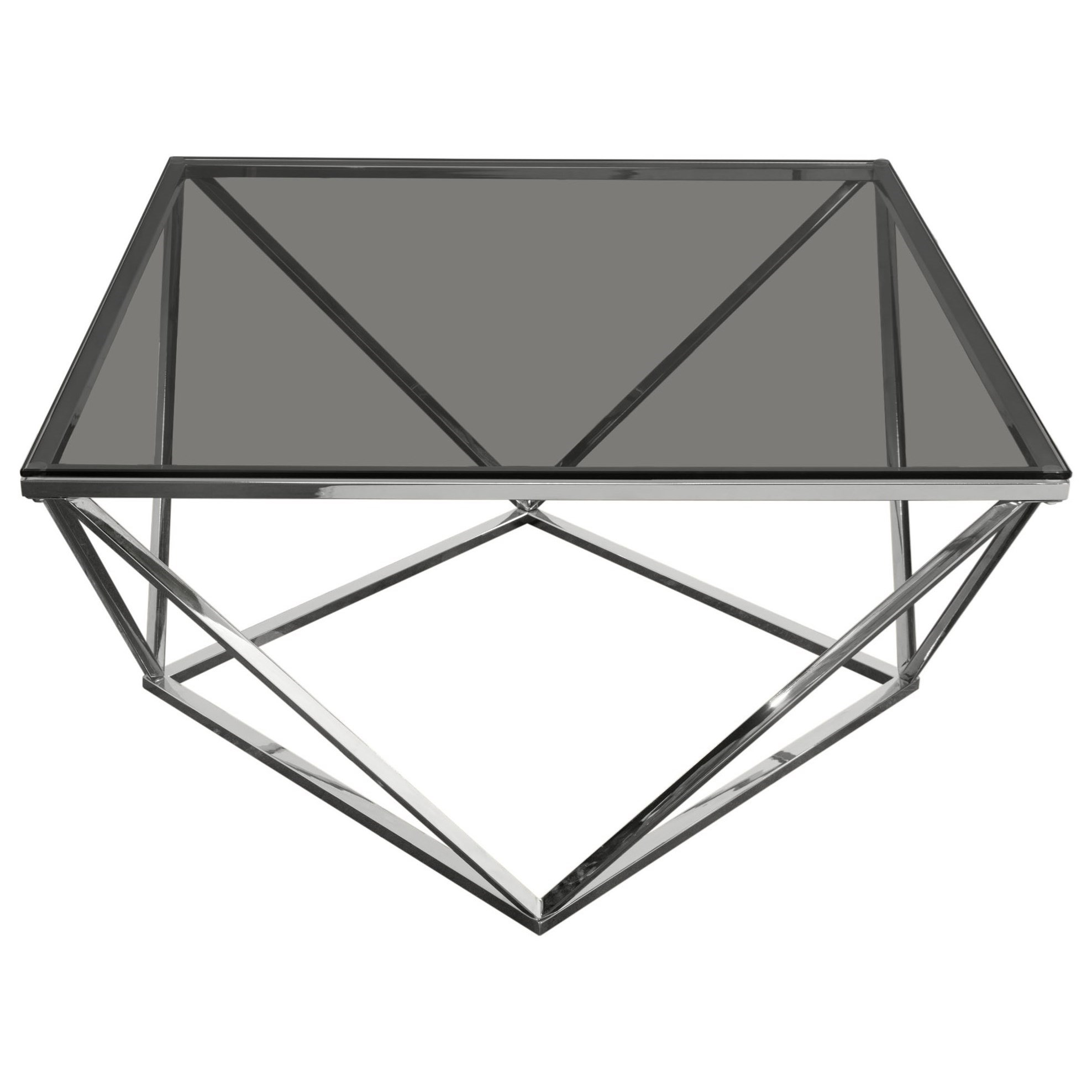 Gem Cocktail Table by Diamond Sofa at HomeWorld Furniture