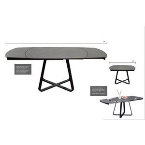 Diamond Sofa Grayson Extension Dining Table