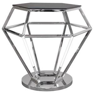 Diamond Sofa Jewel Accent Table