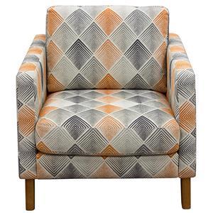 Diamond Sofa Keppel Fabric Accent Chair