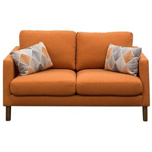 Diamond Sofa Keppel Solid Fabric Loveseat