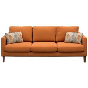 Diamond Sofa Keppel Solid Fabric Sofa
