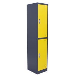 Diamond Sofa Lockers Two-Door Locker