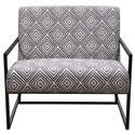 Diamond Sofa Luxe  Accent Chair - Item Number: LUXECHBLWH
