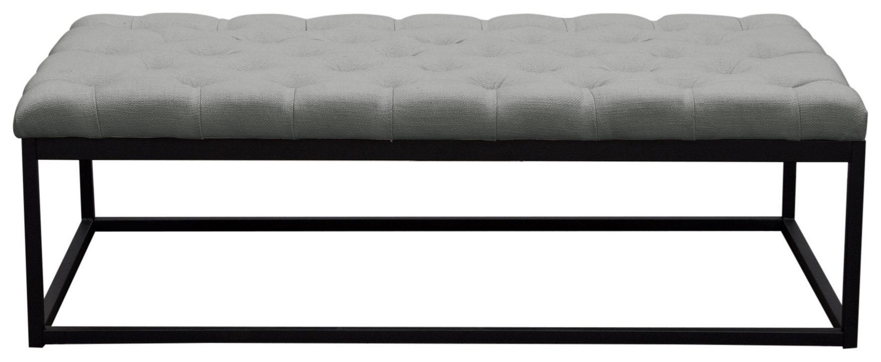 Mateo Large Bench by Diamond Sofa at Red Knot
