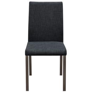 Diamond Sofa Metro 2-Pack Grey Fabric Dining Chairs