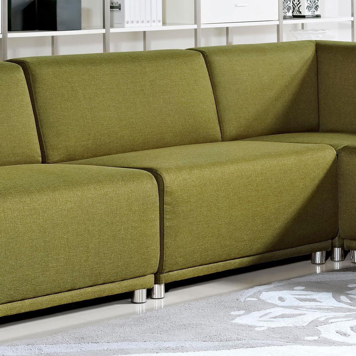 Diamond Sofa Moderna Armless Accent Chair - Item Number: MODERNAACGN
