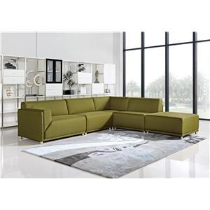 Diamond Sofa Moderna Left Facing Five Piece Sectional