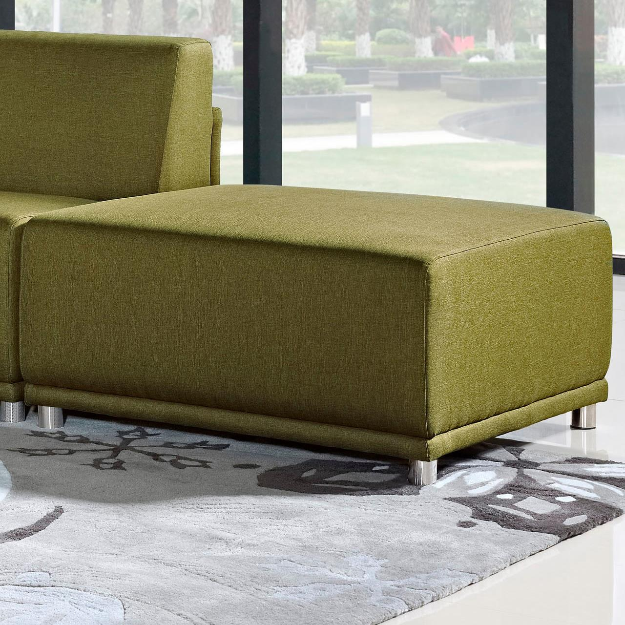 Diamond Sofa Moderna Square Ottoman - Item Number: MODERNAOTGN