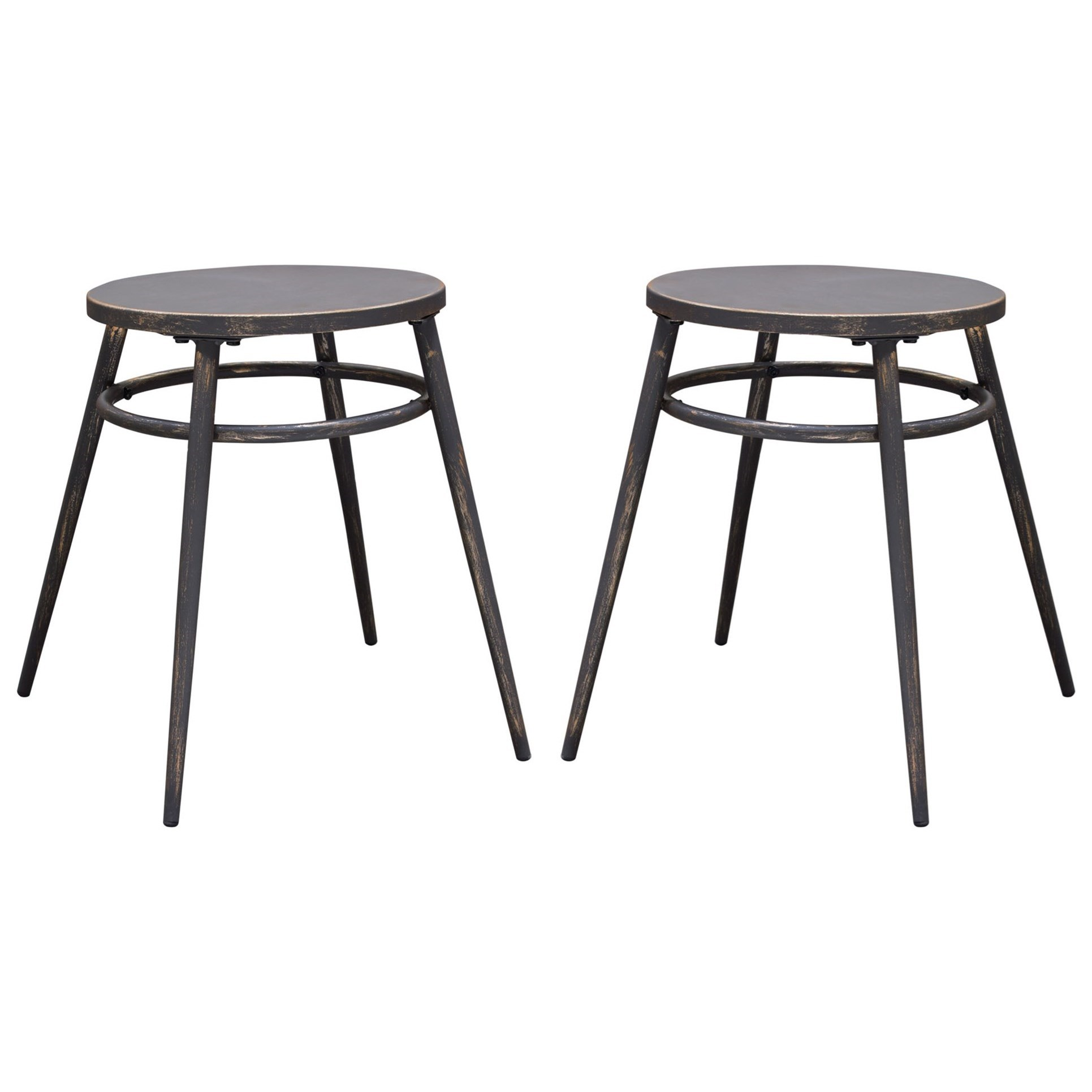 Set of Two Dining Stools