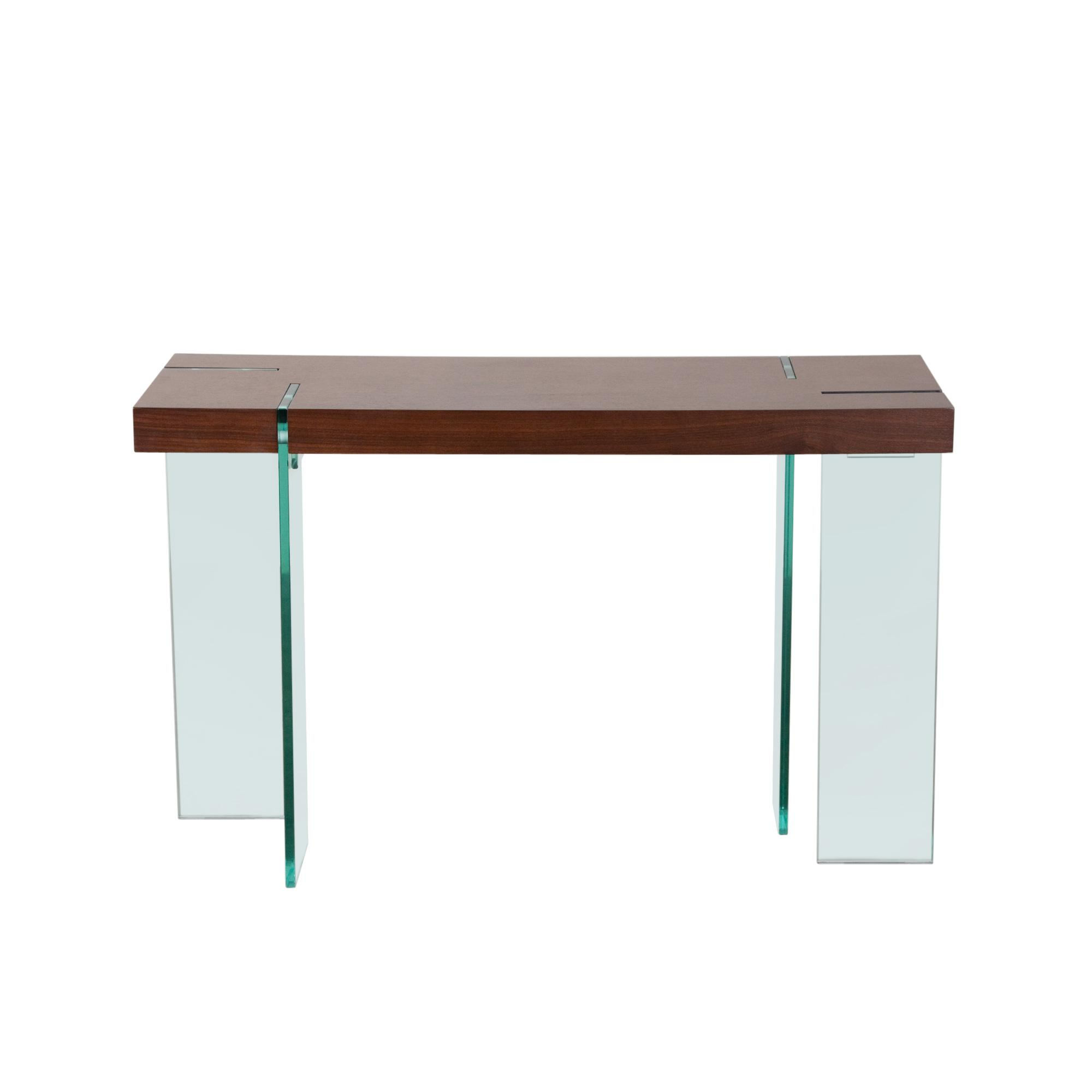 Diamond Sofa Occasional Tables & Entertainment Glass Leg Console Table - Item Number: CS776JV