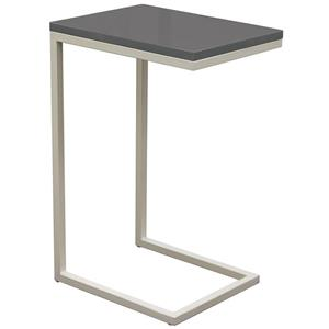 Diamond Sofa Occasional Tables & Entertainment Sleek Metal Frame Accent Table
