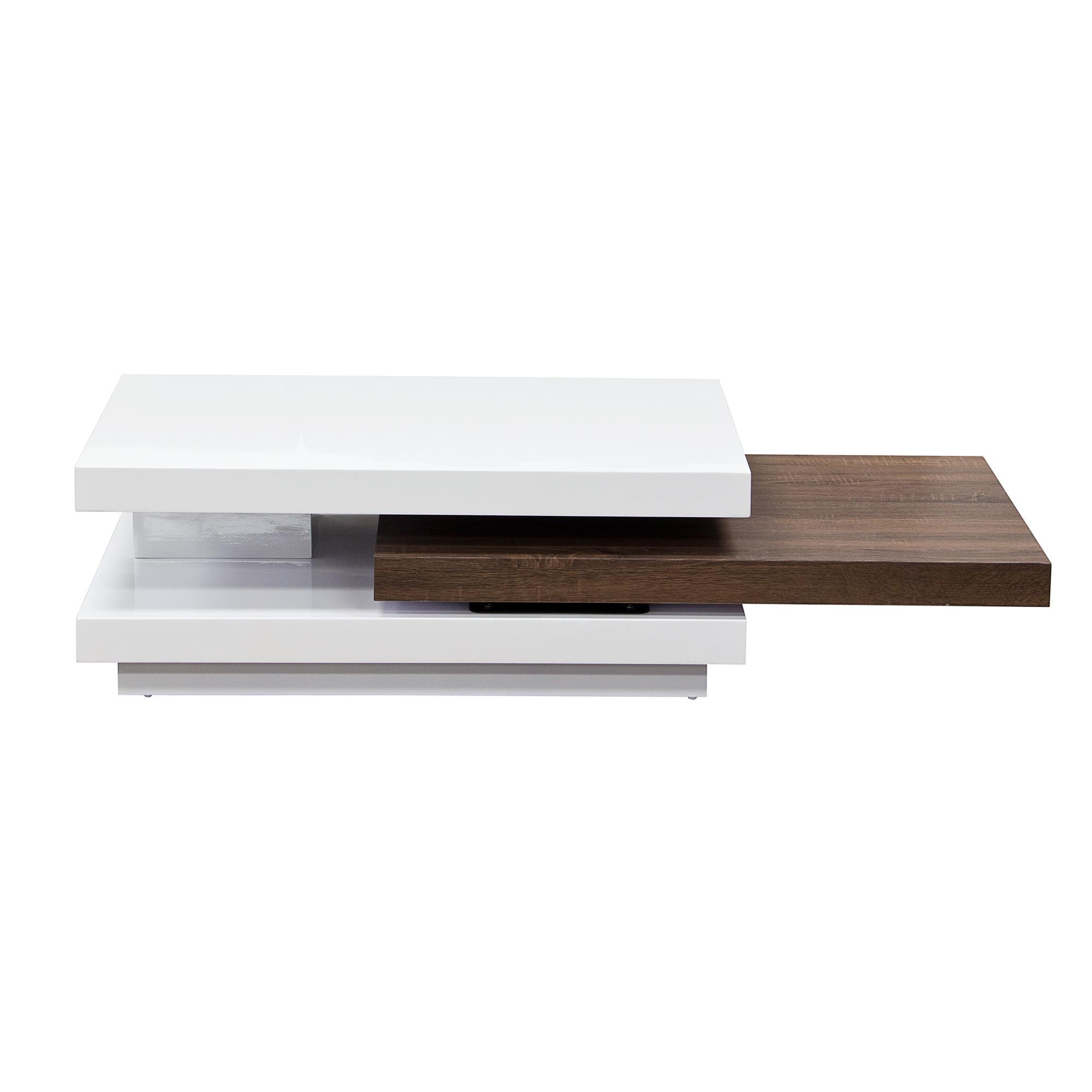 Diamond Sofa Occasional Tables & Entertainment Two-Tone Rectangular Cocktail Table - Item Number: NEXUSCT