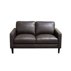 Diamond Sofa Omega Full Leather Loveseat
