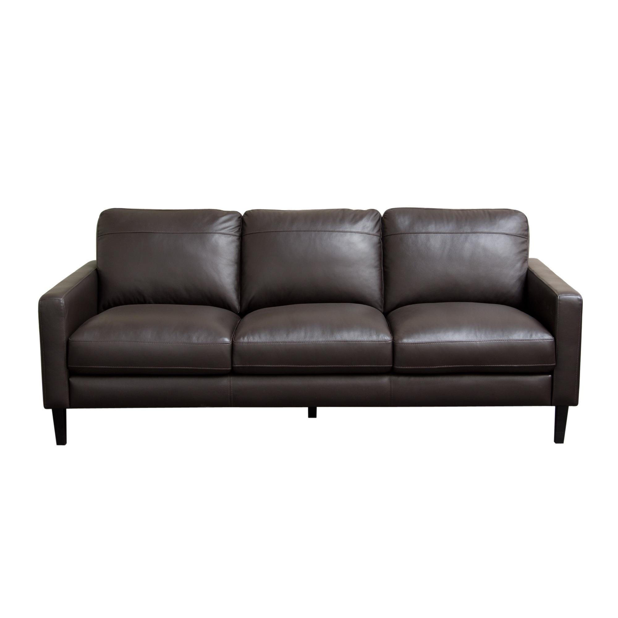 Diamond Sofa Omega Full Leather Sofa - Item Number: OMEGASODC