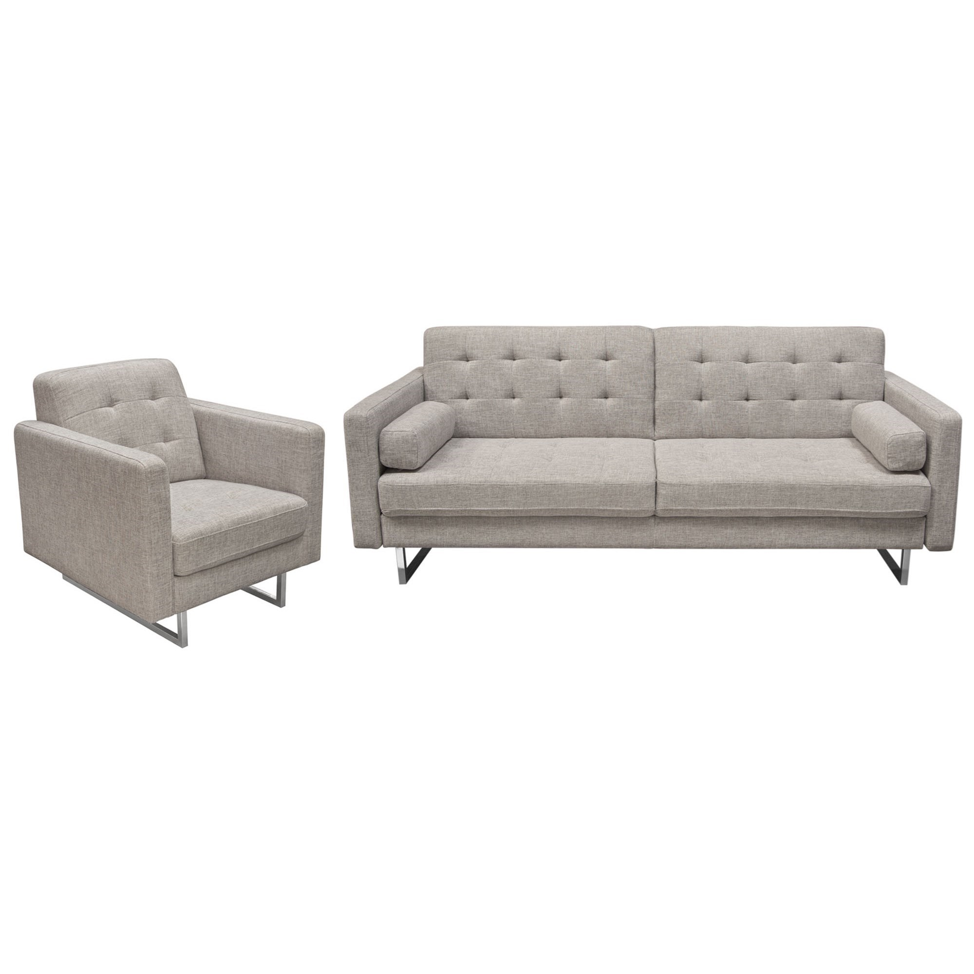 Opus Sofa and Chair Set by Diamond Sofa at HomeWorld Furniture