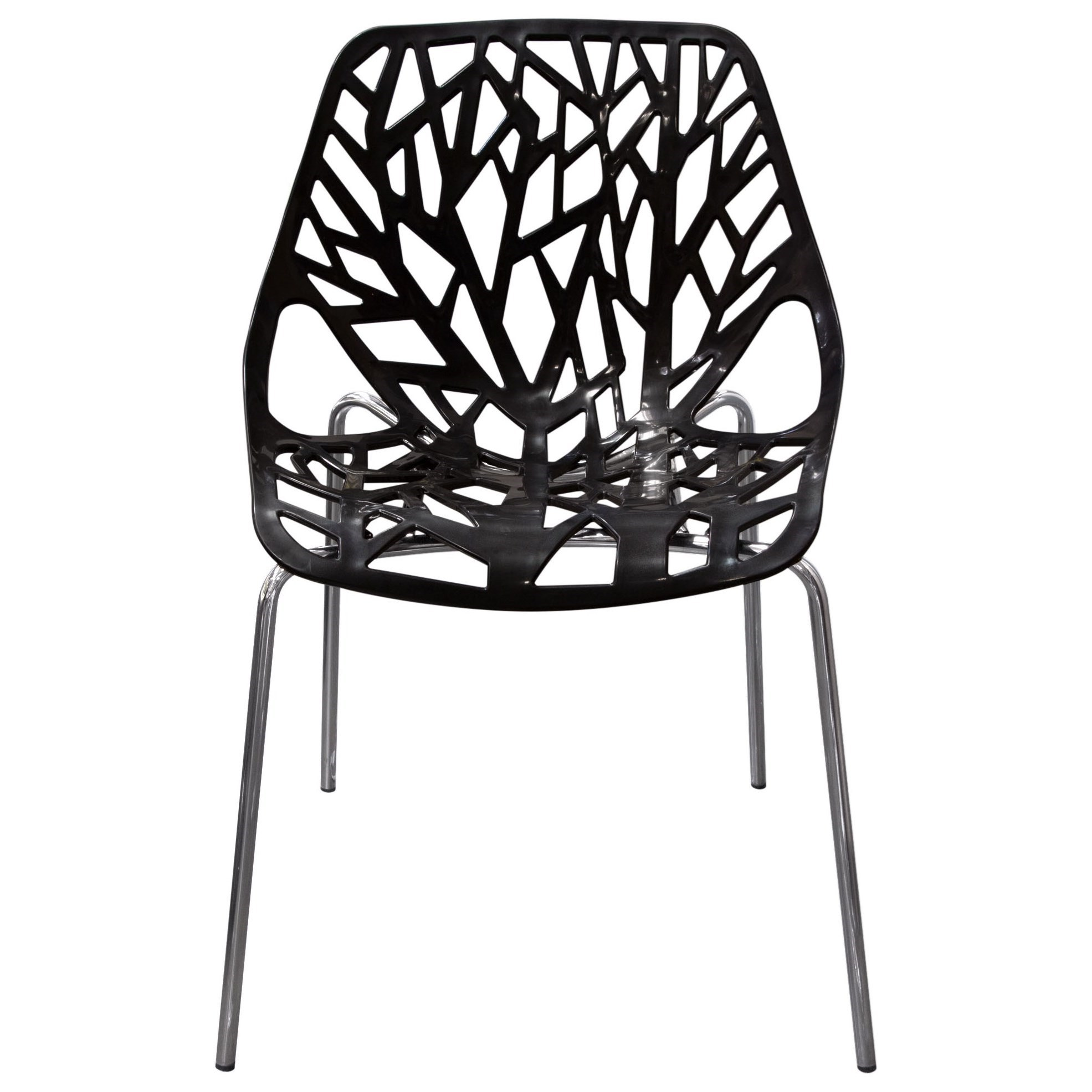 Set of Four Outdoor Accent Chairs