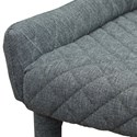 Diamond Sofa Savoy Set of Two Accent Chairs with Diamond Tufting