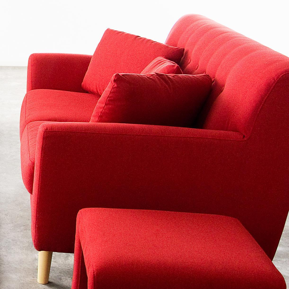 Diamond Sofa Scarlett Fabric Loveseat - Item Number: SCARLETTLORE