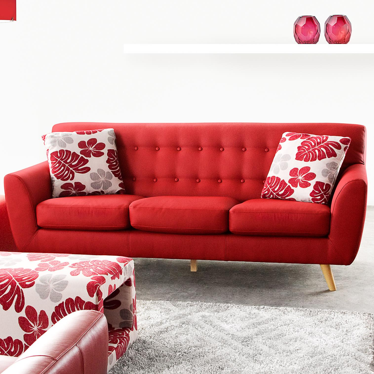 Diamond Sofa Scarlett Solid Fabric Sofa - Item Number: SCARLETTSORE