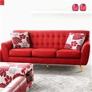 Diamond Sofa Scarlett Solid Fabric Sofa