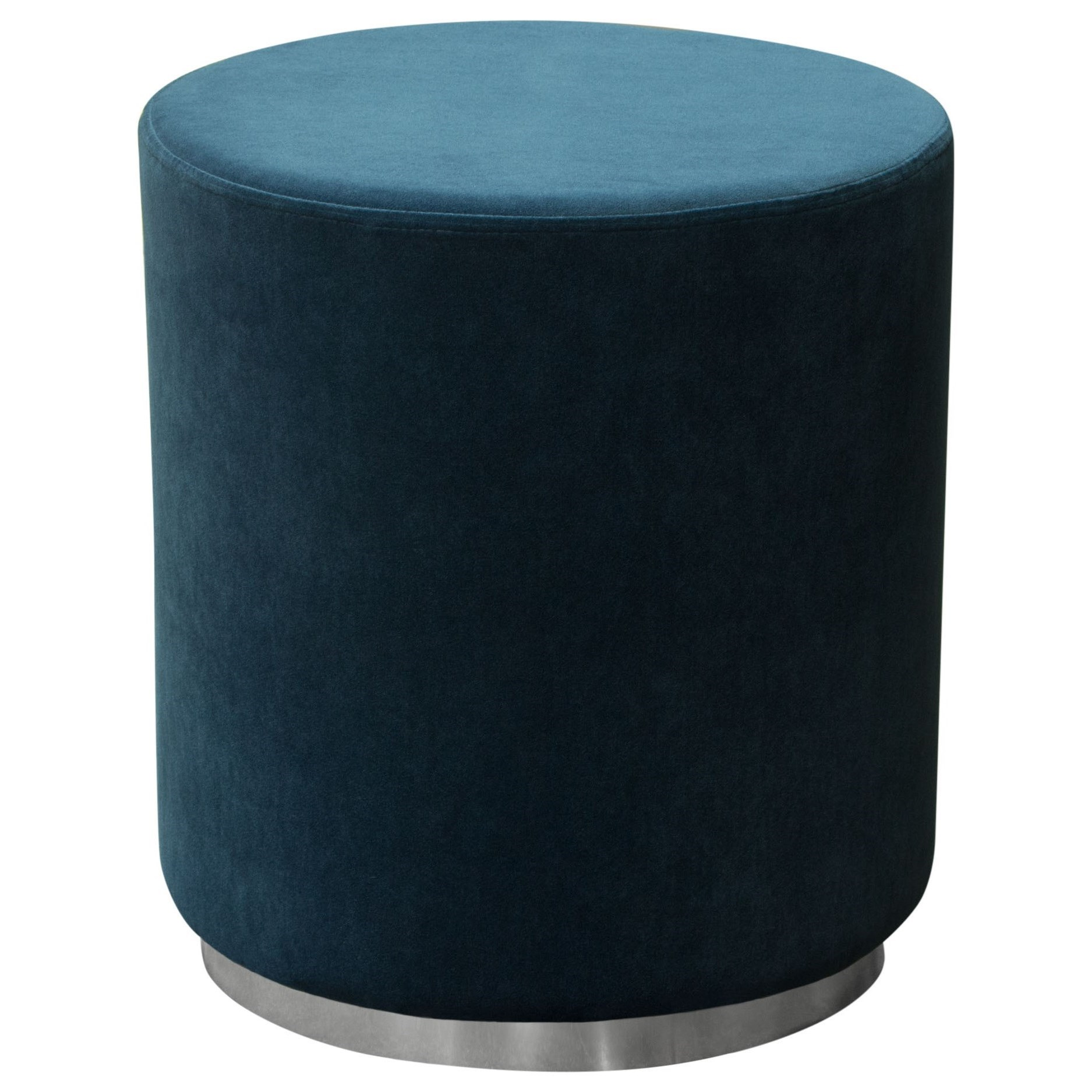 Sorbet Accent Ottoman by Diamond Sofa at HomeWorld Furniture