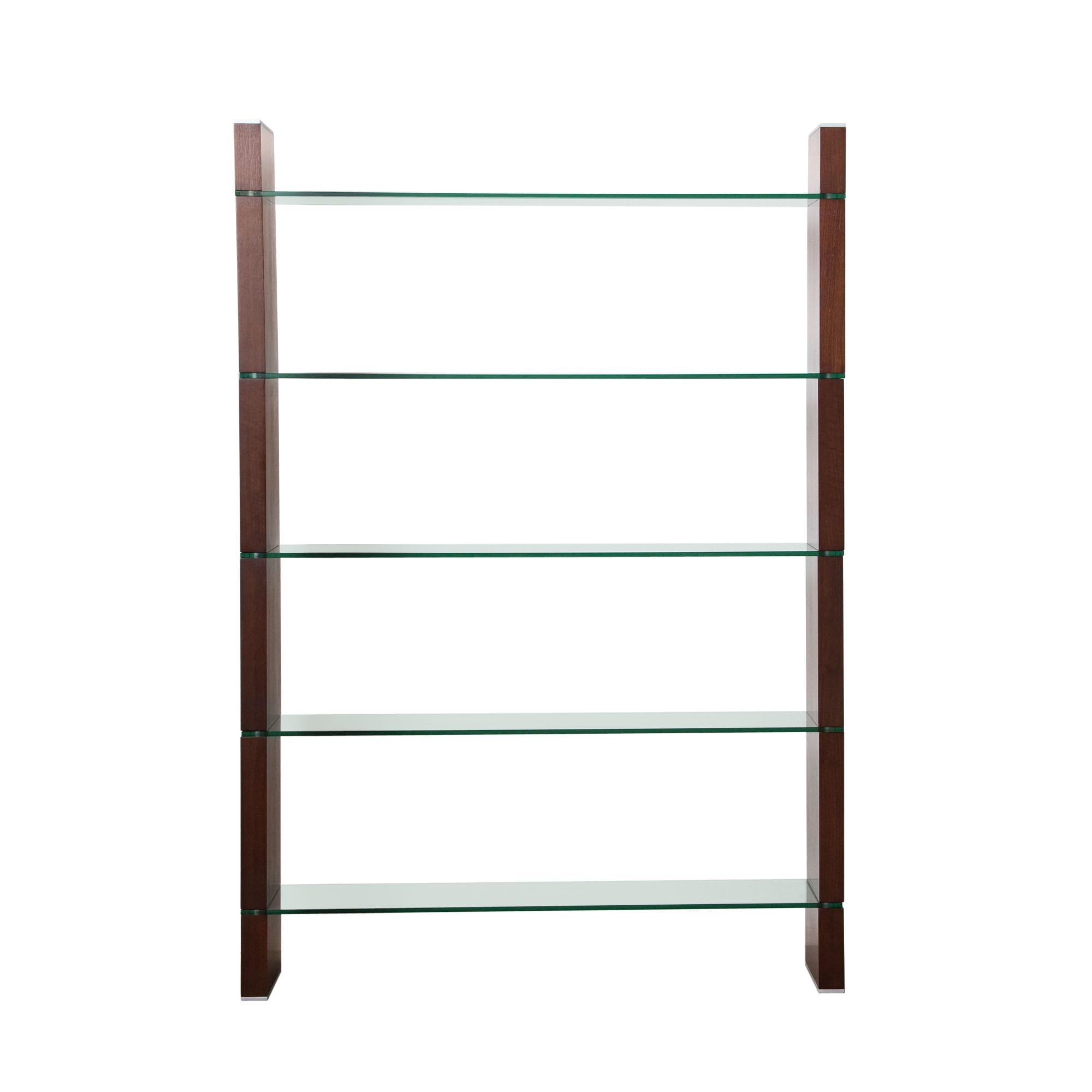 Diamond Sofa Home Accents Glass Bookcase and Room Divider - Item Number: W285JA