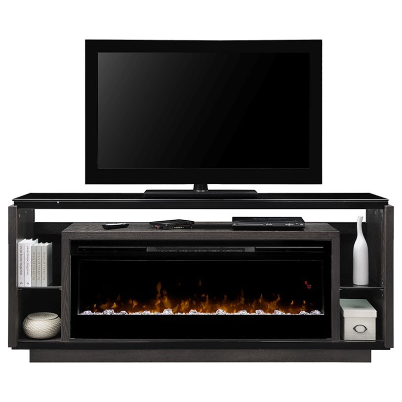 Fireplace and T.V. Stand
