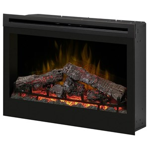 "Dimplex Electric Fireboxes 33"" Self-Trimming Log Firebox"