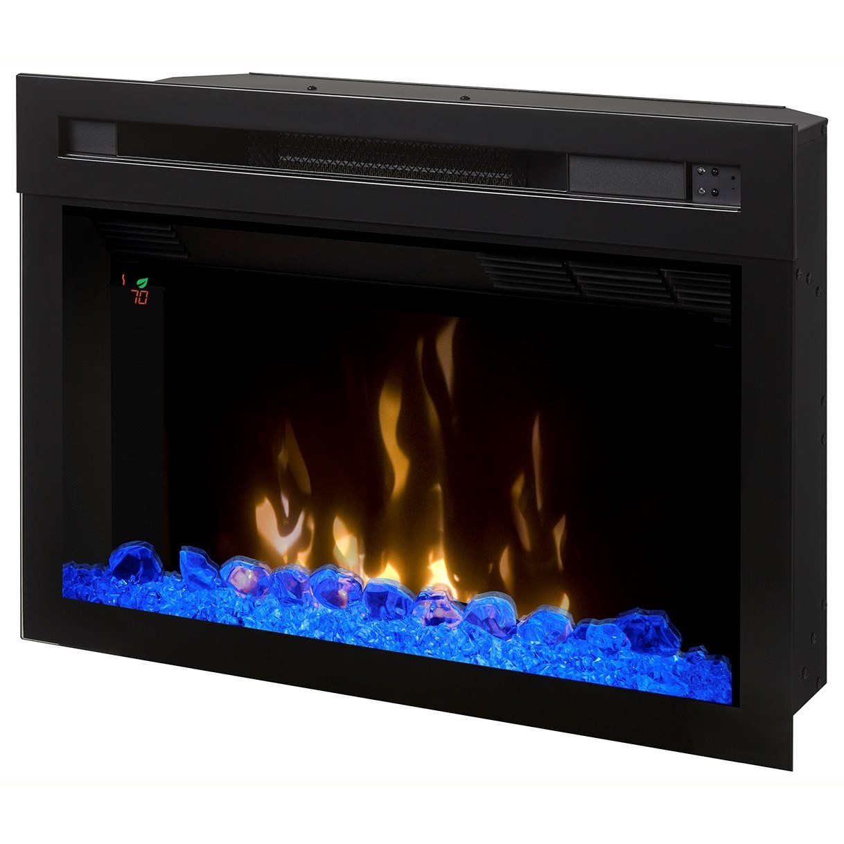 "Electric Fireboxes 25"" Multi-Fire XD Electric Firebox by Dimplex at Darvin Furniture"